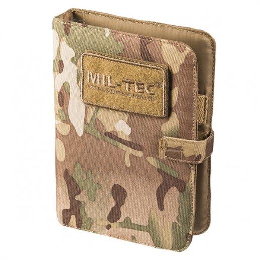 Notebook i Multicam fra Mil-Tec