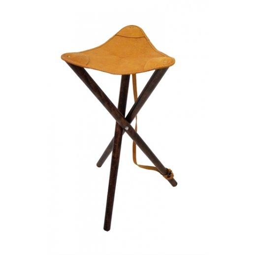 Jagtstol Trebenet Læder 65 cm