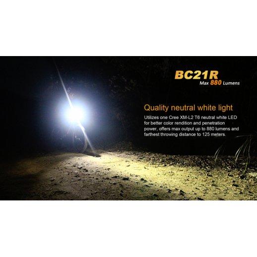 Fenix BC21R - Genopladelig Cykellygte