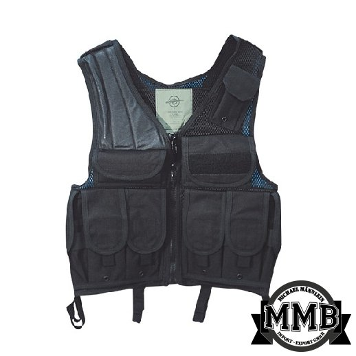 Tactical Kampvest i SORT