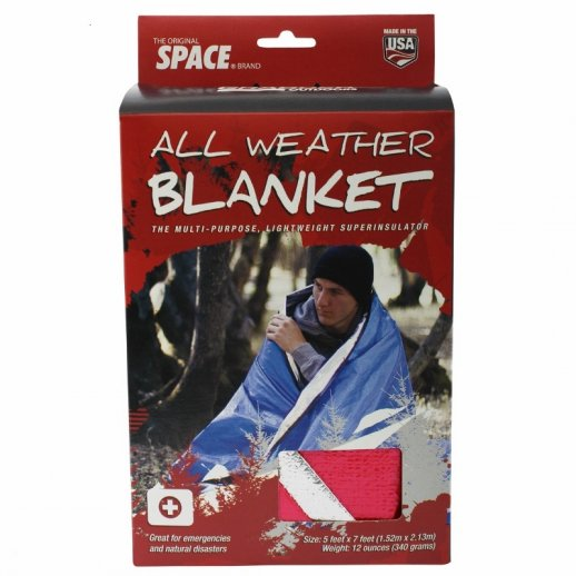 All Weather Survival Blanket - Rød