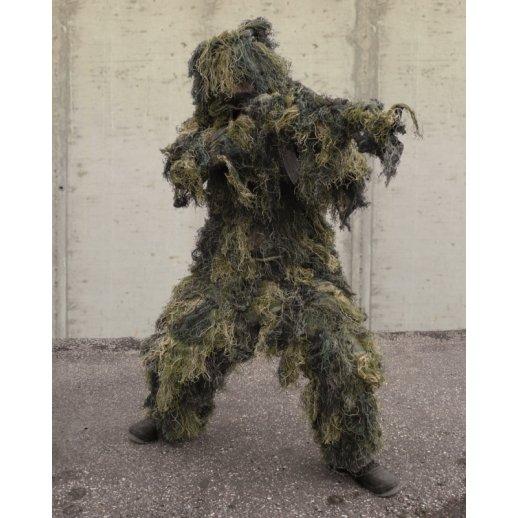 Ghillie Suit camouflagesæt - Woodland