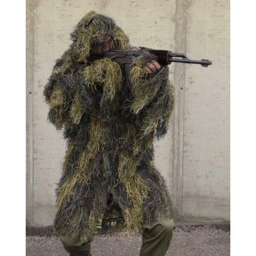 Ghillie Parka Camouflage - Woodland