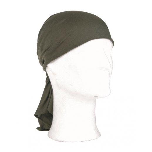 Multifunktionelt halsrør/headwrap - Oliven