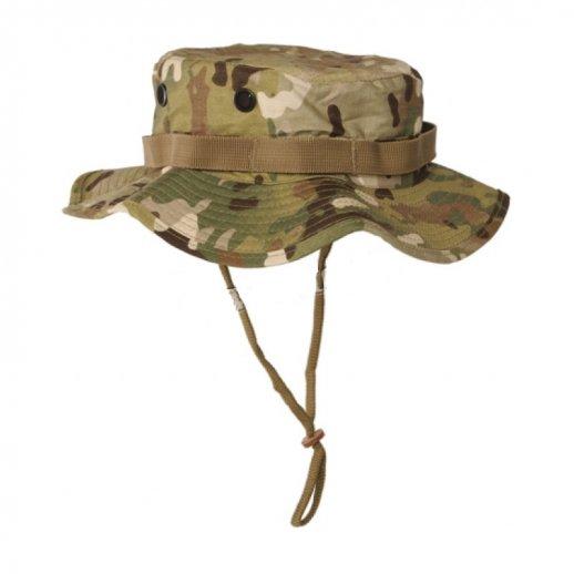 Bøllehat fra Mil-tec i Multicam camouflage