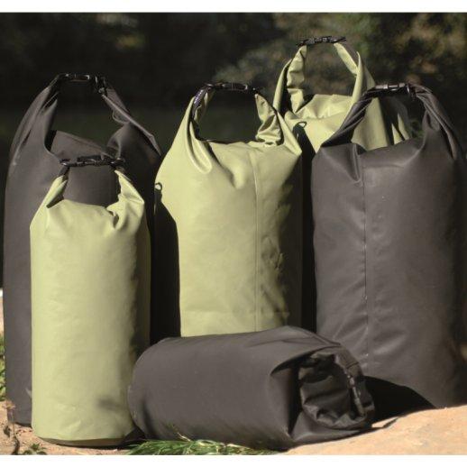 Vandtæt Transport Drybag 50 liter - Oliven