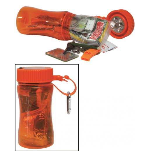 Ultimate Outdoor Survival BOX - Orange