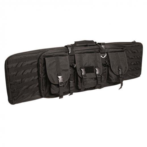 Riffel taske Large m. opbevaringslommer - SORT