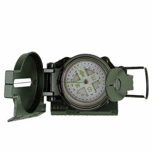 Oliven grønt militær kompas