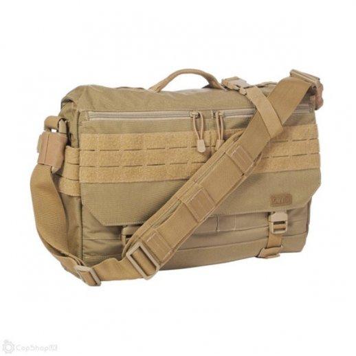 5.11 RUSH Taske - Delivery messenger LIMA - Sand