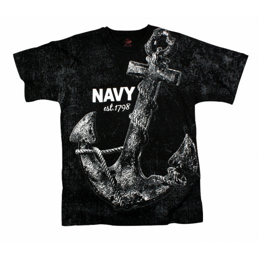 T-shirt - NAVY ANCHOR