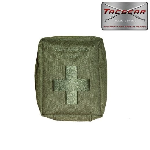 Tacgear First Aid Pounch - Oliven
