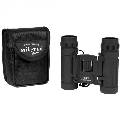 Kompakt Kikkert 8x21mm - SORT