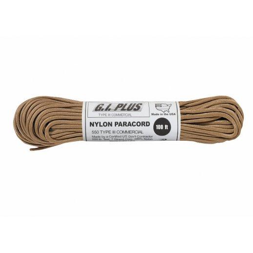 Nylon Paracord reb 4mm x 30 m - Sand