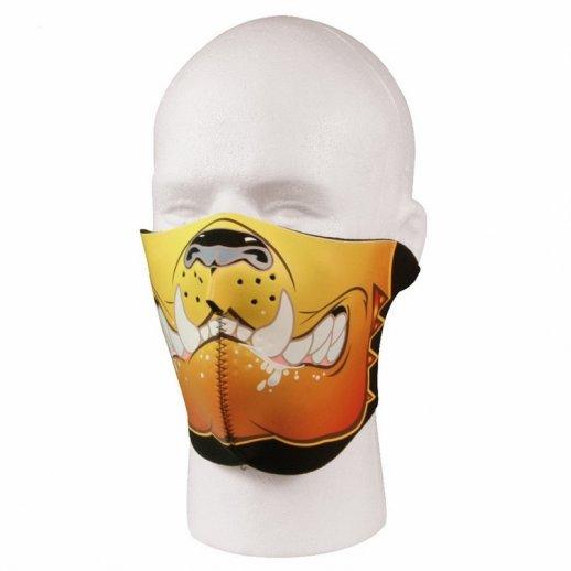 Neopren halv facemask Bulldog