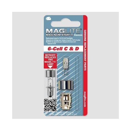 Maglite Upgrade kit Xenon pære - 6-Cell