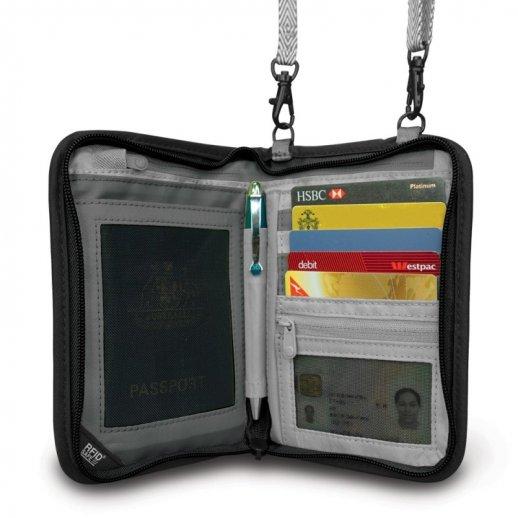 Pacsafe RFIDsafe V150 - dokumenttaske