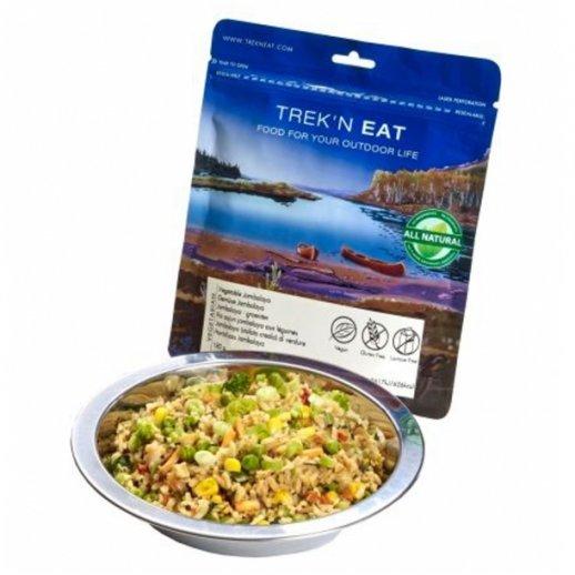 Trek'n Eat - Grønsags Jambalaya Vegetar - 180 gr.