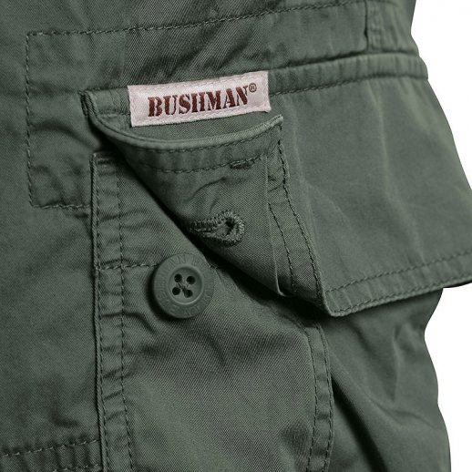 BUSHMAN Shorts TERON - Khaki