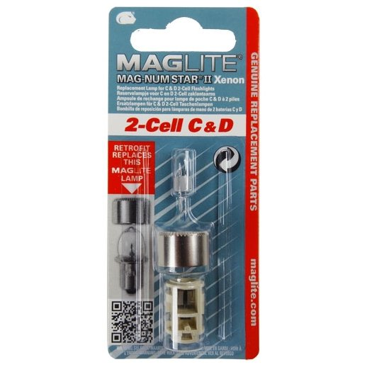 Maglite Upgrade kit Xenon pære - 2-Cell