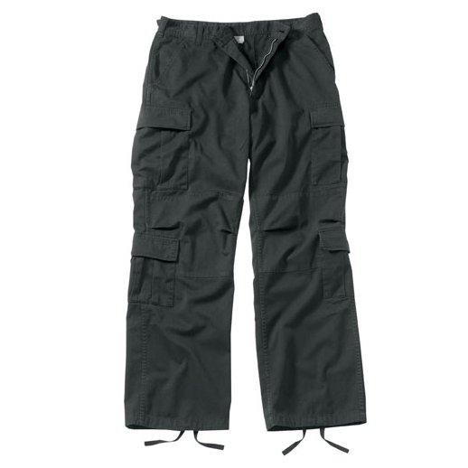 Sorte bukser model - Vintage Paratrooper Fatigues