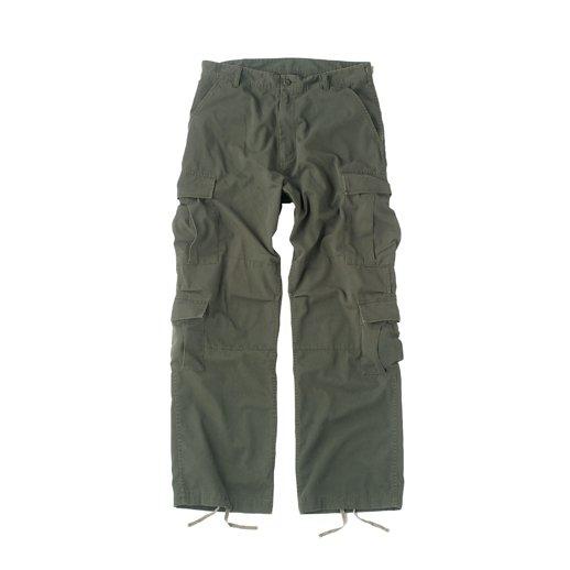 Oliven bukser model: Vintage Paratrooper Fatigues