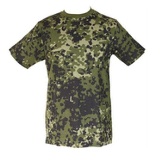 T-shirt i Dansk Camouflage M84