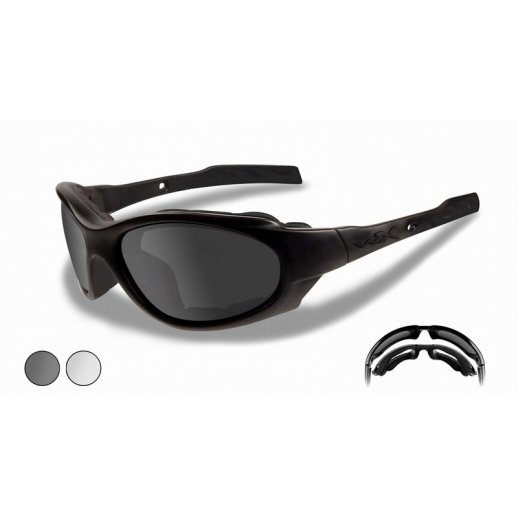 Wiley X XL-1 Smoke Grey/Clear lens
