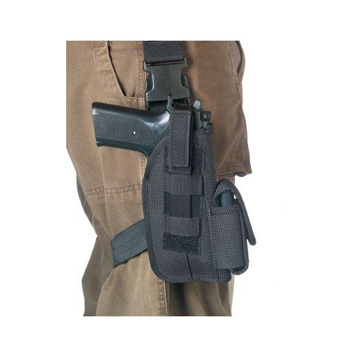 Pistolhylster til lårmontage. Fås i to størrelser.
