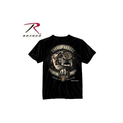 T-shirt USMC Bulldog