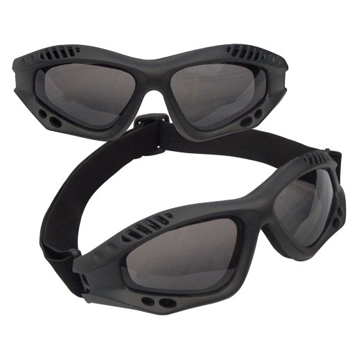 Solbrille Tactical Black Goggles