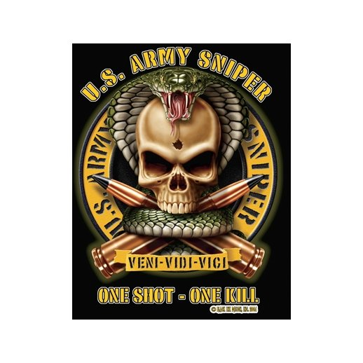 T-shirt US Army Sniper