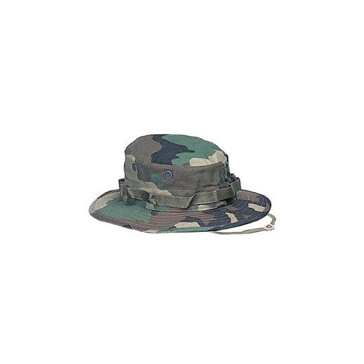 Woodland Camouflage Boonie hat