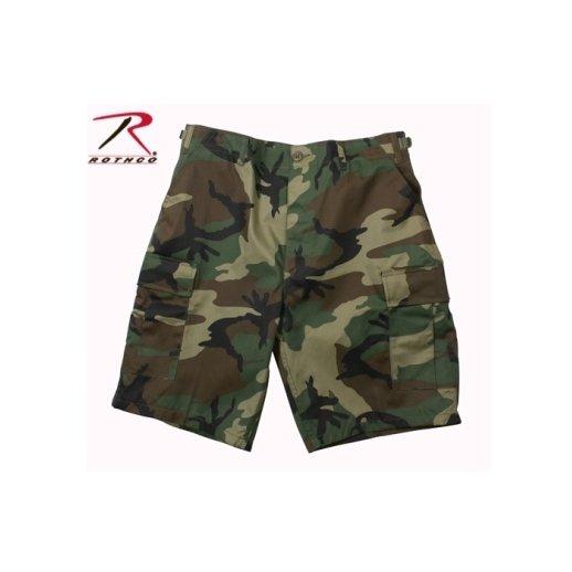 Woodland Camo Militær Shorts