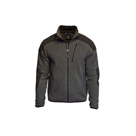 5.11 - Tactical Full Zip Sweater - Gun Powder(Grå)