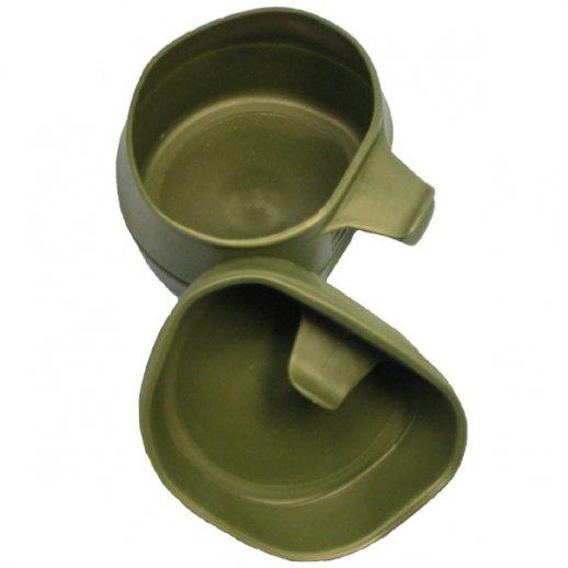 Foldekop BIG - 600 ml. Oliven