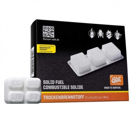 Esbit - Sprittabletter 12 x 14 gram