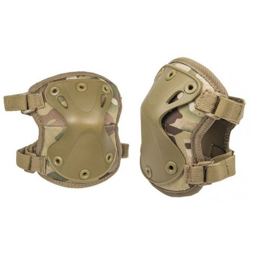 Mil-tec Albuebeskyttere Protect - Multicam