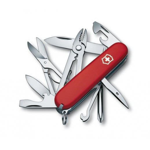 Victorinox lommekniv - Deluxe Tinker rød