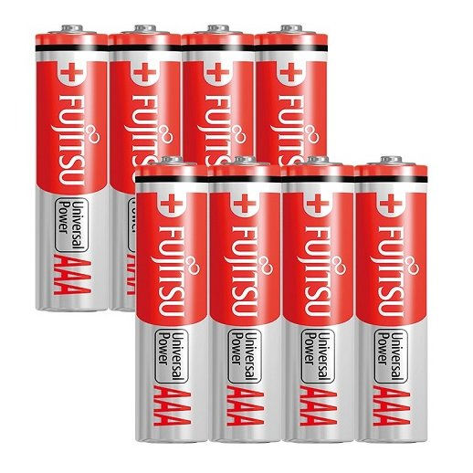 Fujitsu AAA / LR03 batterier - 8 stk