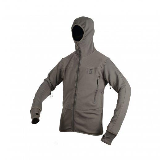 MLV - Tactical Tight Fleece m/hætte - Ranger Green