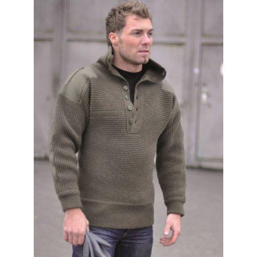 Østrigsk alpin sweater fra Mil-Tec