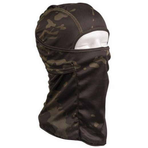 Balaclava Tactical Open - Sort Multicam