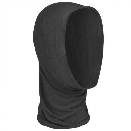 Multifunktionelt halsrør/headwrap - Sort
