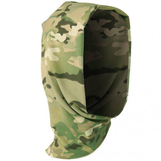 Multifunktionelt halsrør/headwrap - Multicam