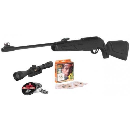 Gamo Adult Pack luftgevær med kikkert og hagl