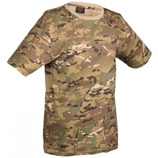 T-shirt i multicam camouflage