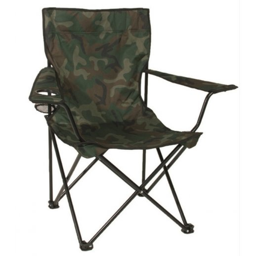 Relax Campingstol - Camouflage