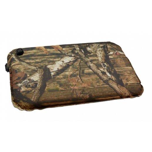 Blød og varm selvoppustelig siddepude i camouflage