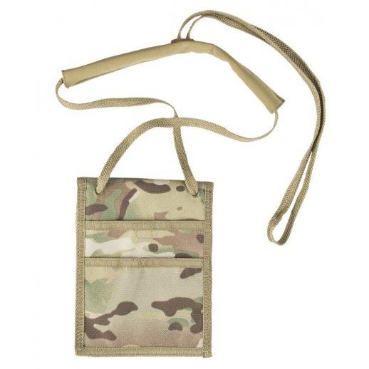 Camouflagepung med snor til halsen fra Mil-Tec